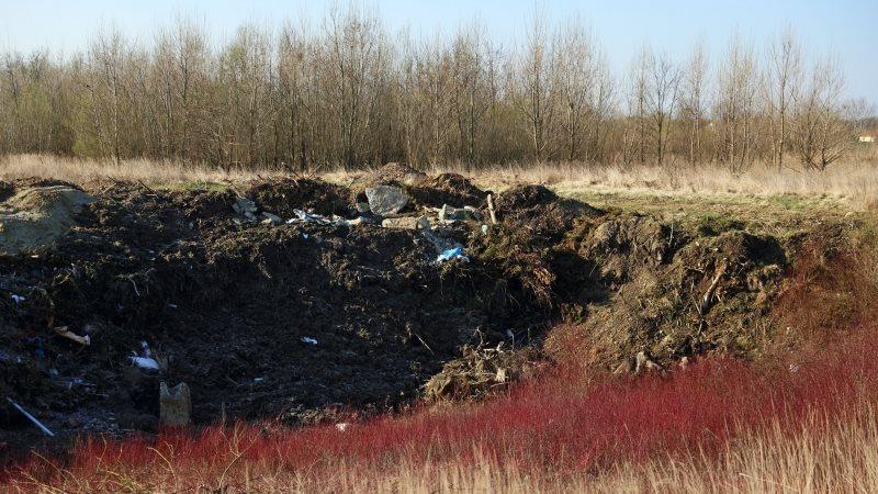 Meritve so pokazale, da je kontaminirano celotno območje južnega dela Dravskega polja.