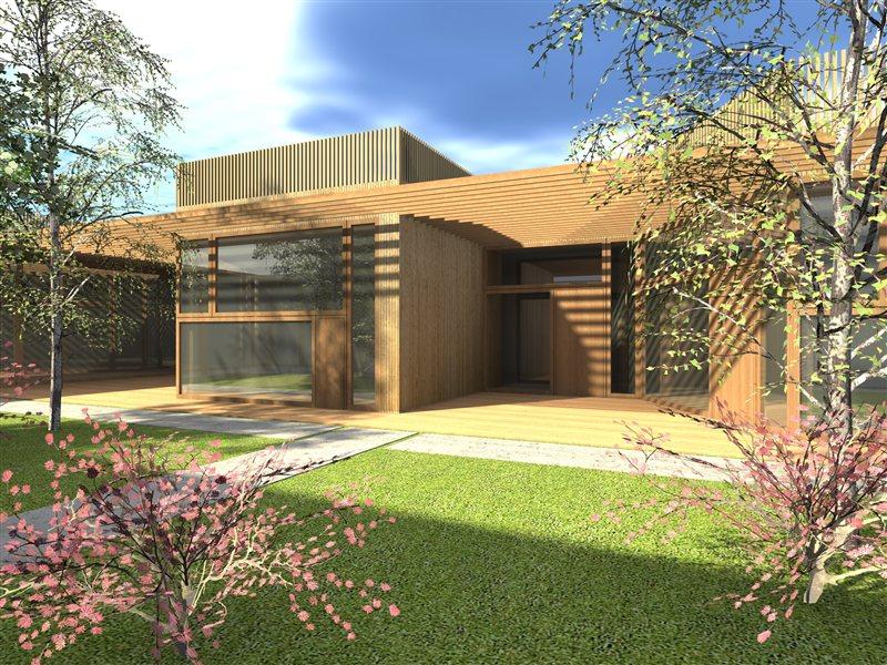 Idejni projekt novih prostorov vrtca v Svetem Juriju ob Ščavnici.
