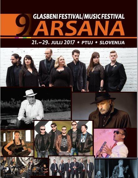 Arsana Ptuj uvršča v poletne glasbene metropole
