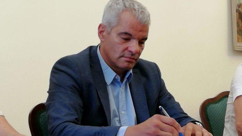 Rdeči križ moral poiskati še druge vire, je  povedal župan Saša Arsenovič.