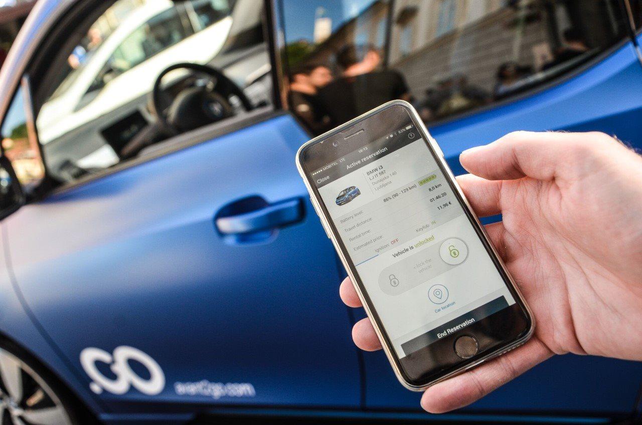 Izposoja avtomobilov bo možna preko telefonov
