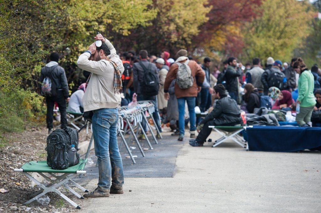 V nastanitvenem centru Šentilj je bilo zjutraj 3643 oseb.