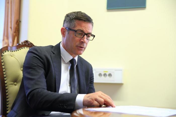 Boris Novak, generalni direktor Pošte Slovenije .