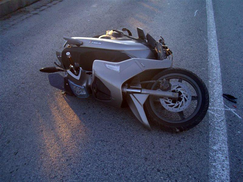 Motoristi so na goriškem pogosti udeleženci prometnih nesreč.