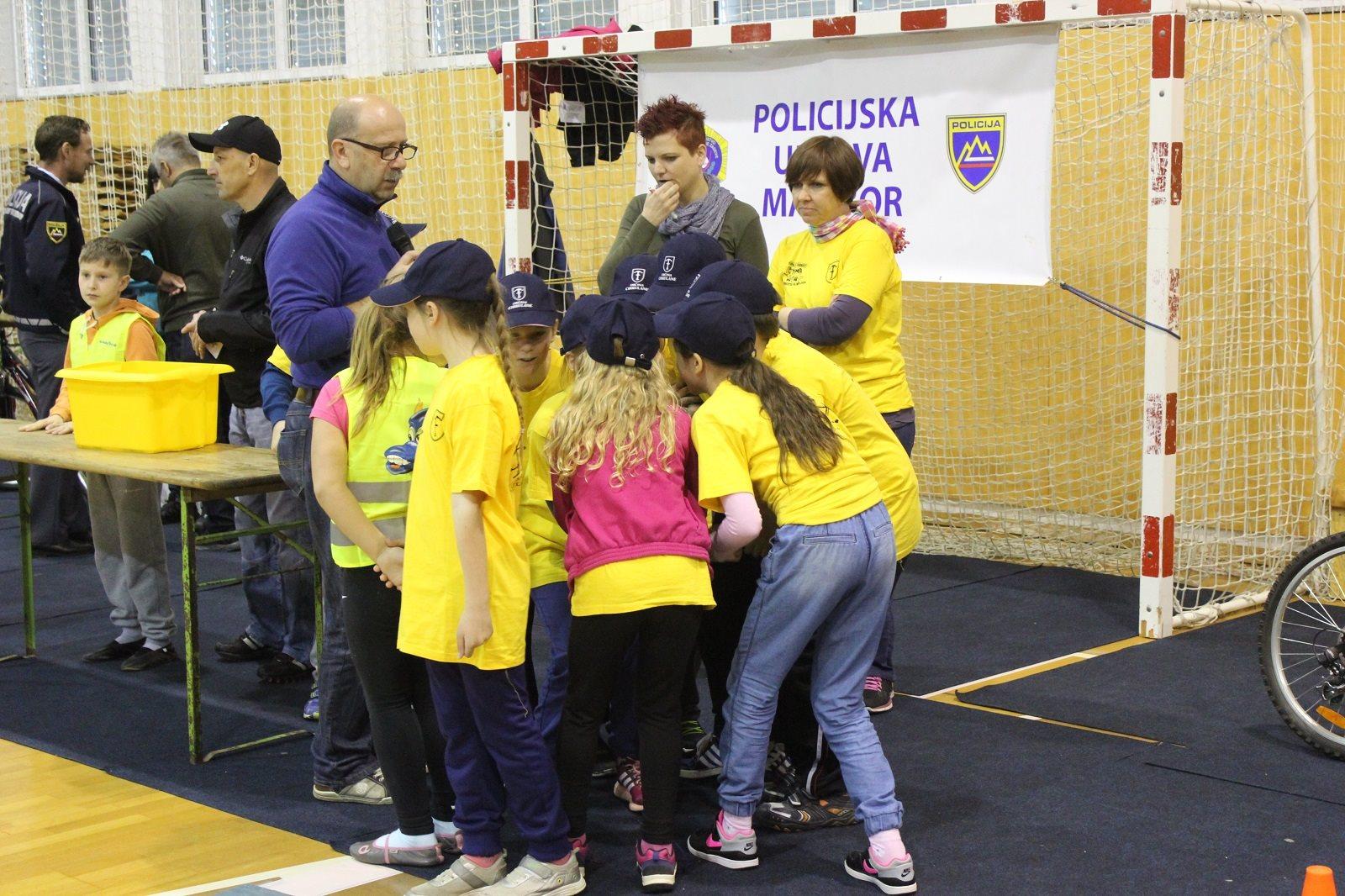 Policijska uprava Maribor že 12. zapored začenja preventivni projekt otroške varnostne olimpijade.