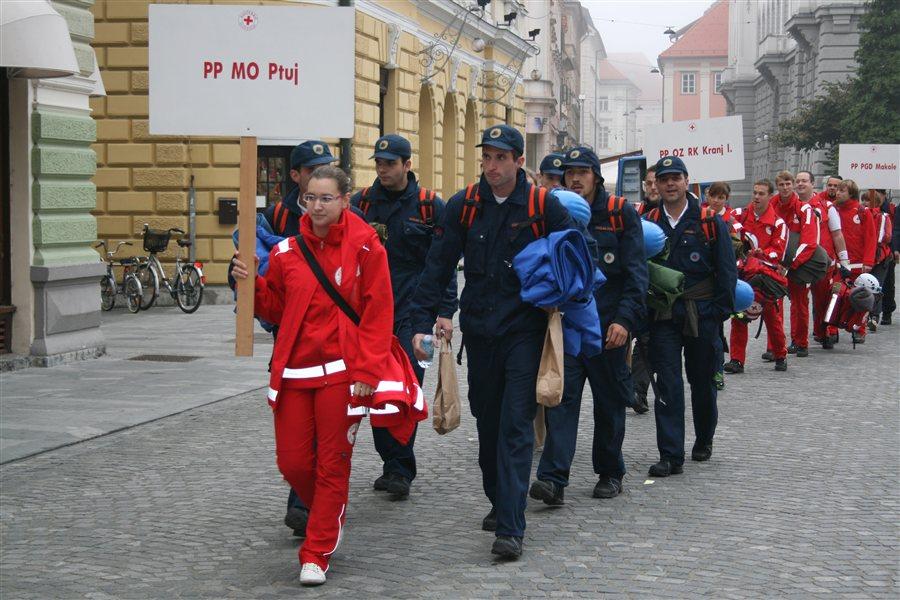 Ekipa Prve pomoči Civilne zaščite in Rdečega križa MO Ptuj!