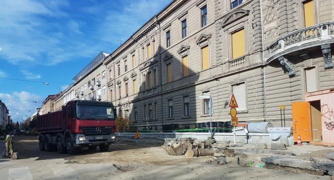 Cankarjeva ulica ne bo prevozna.