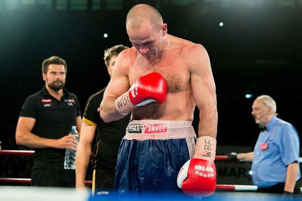 Dejan Zavec si je zaslužil boksarski pokoj.