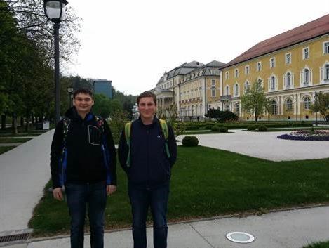 Saša Banfi in Štefan Horvat sta na državnem tekmovanju delila tretje mesto