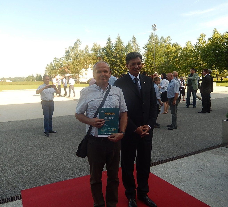 Med prejemniki priznanj Naj prostovoljec 2014 je tudi Drago Kukovec iz Ormoža