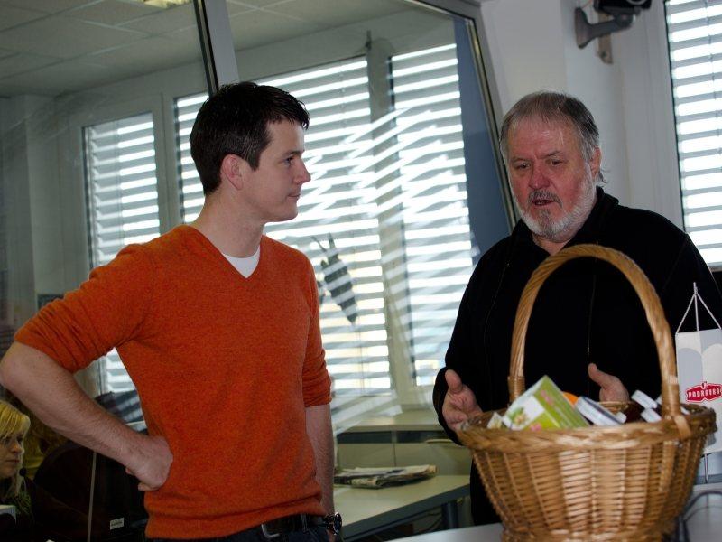 Janez Bogataj bo nedeljski gost Boštjana Romiha.