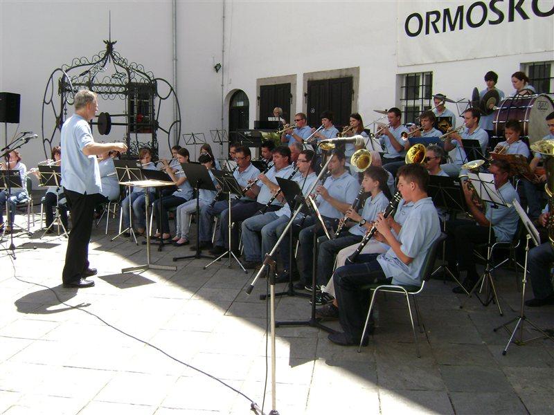 Srečanje godb v Ormožu