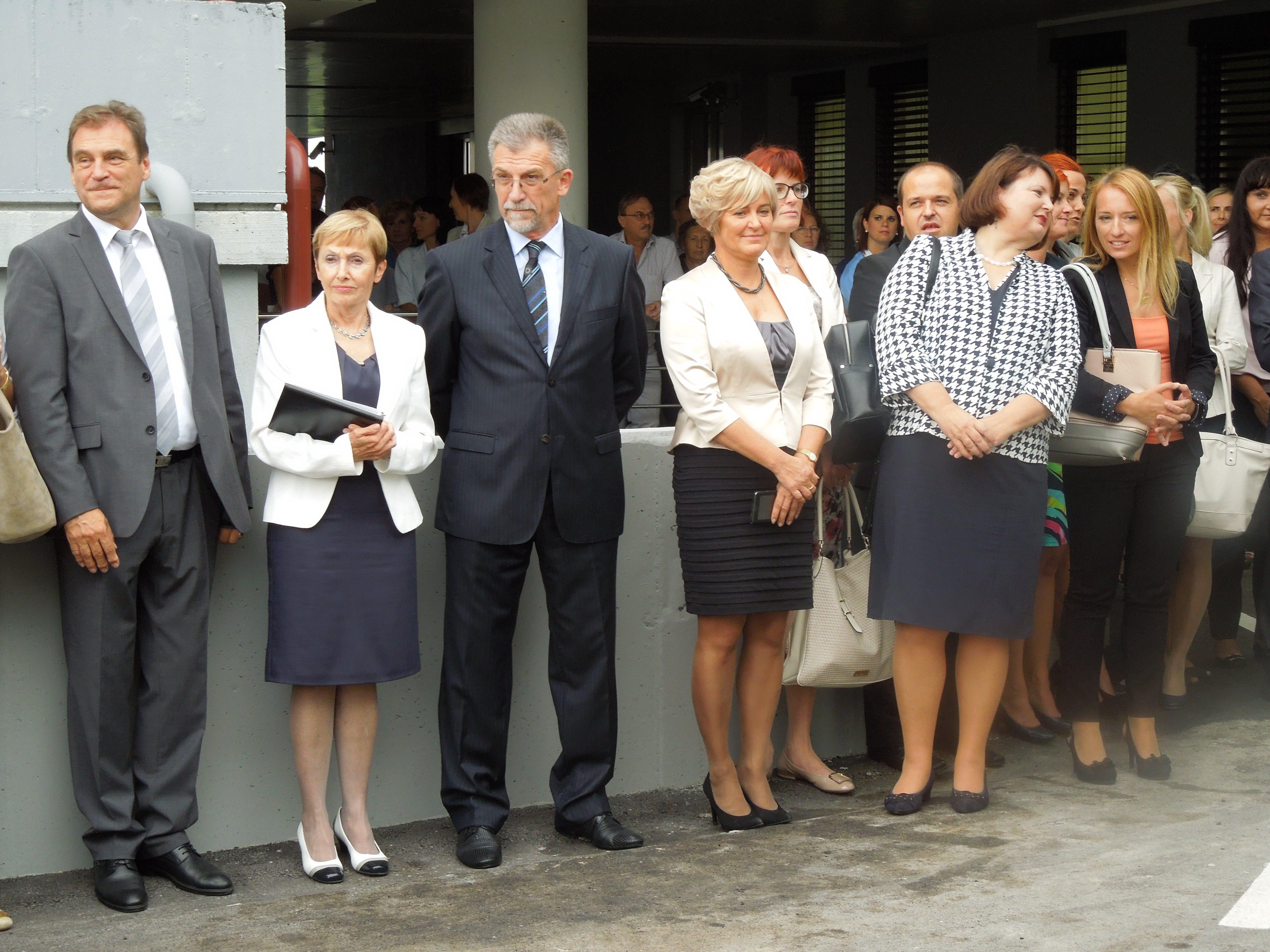 Otvoritve se je udeležila tudi ministrica za zdravje Milojka Kolar Celarc