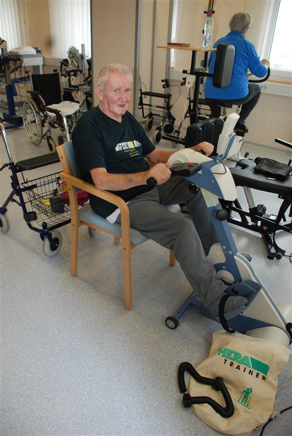 Z novo aparaturo v Radencih pomagajo starejšim.