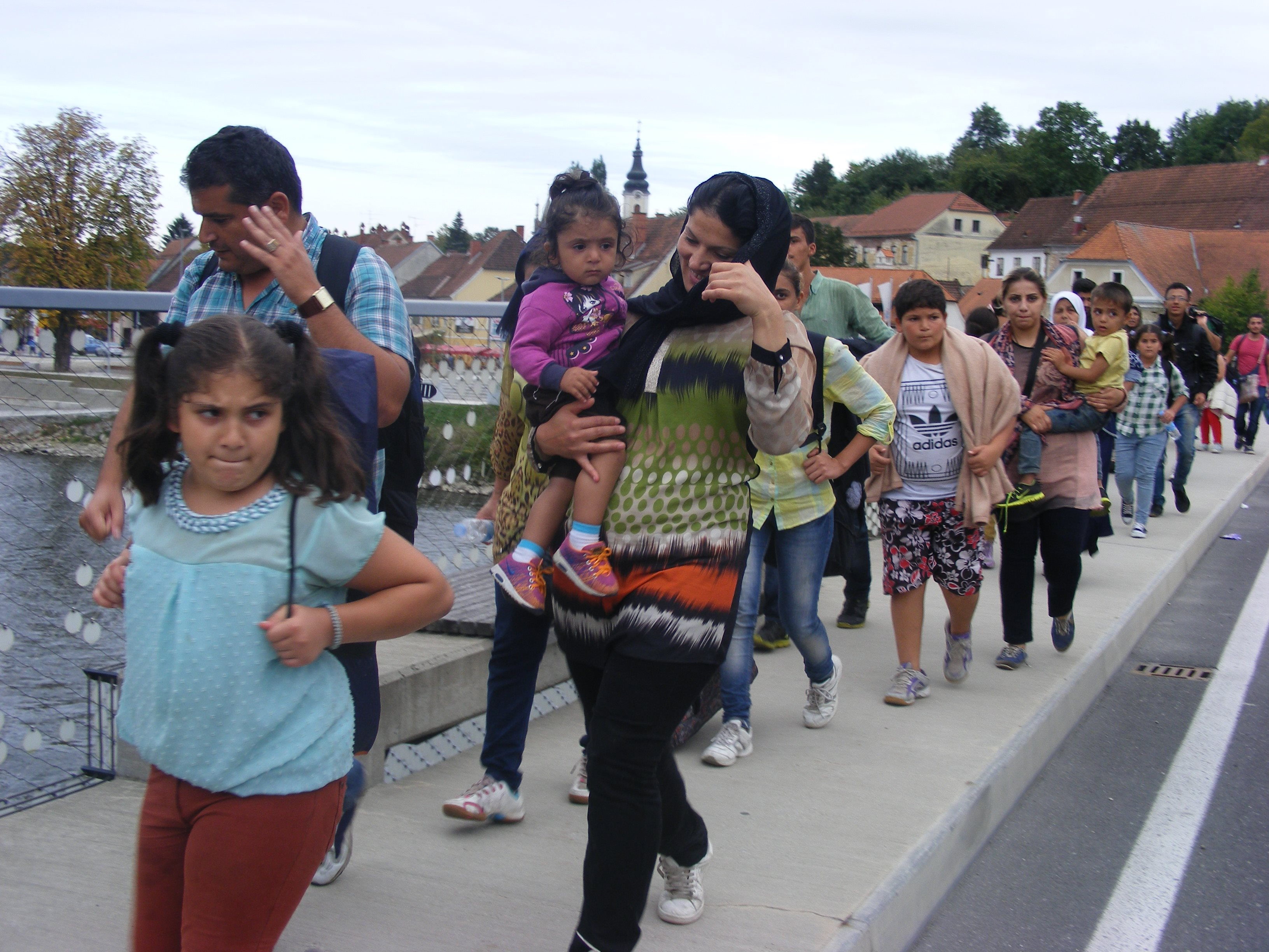 Tujci so proti meji z Avstrijo krenili samovoljno