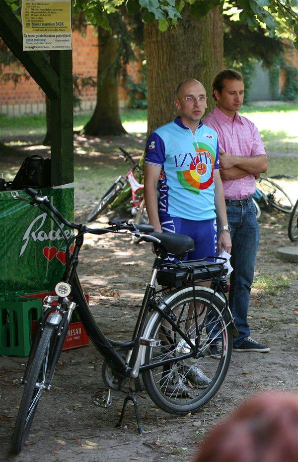 S pridobitvijo je zadovoljen tudi župan Matej Gomboši, sicer navdušen kolesar