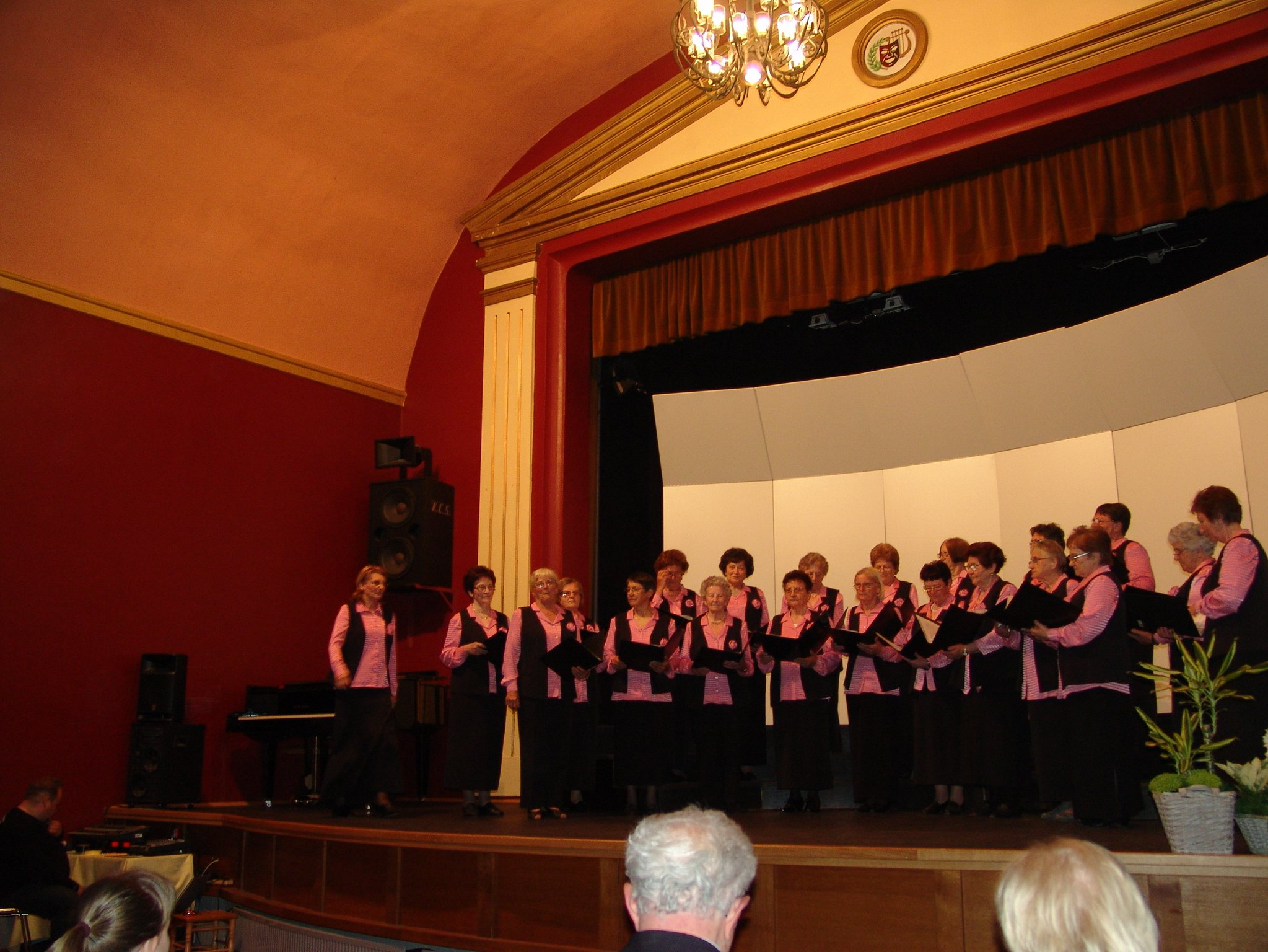 Ženski pevski zbor DU Ljutomer.