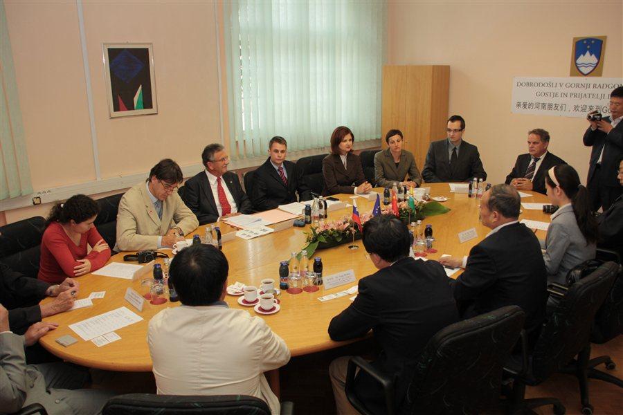 Obisk kitajske delegacije v Gornji Radgoni