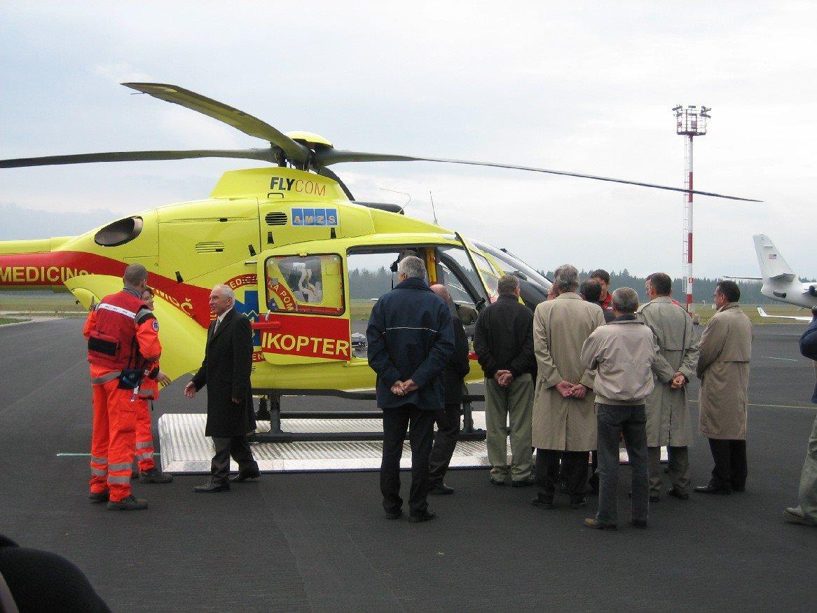 Pomoč s helikopterjem je za Maribor nujna