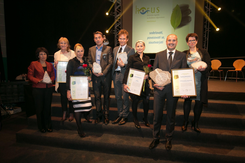 Med prejemniki nagrade Horus je tudi soboško podjetje Saubermacher-Komunala; foto:Mediaspeed