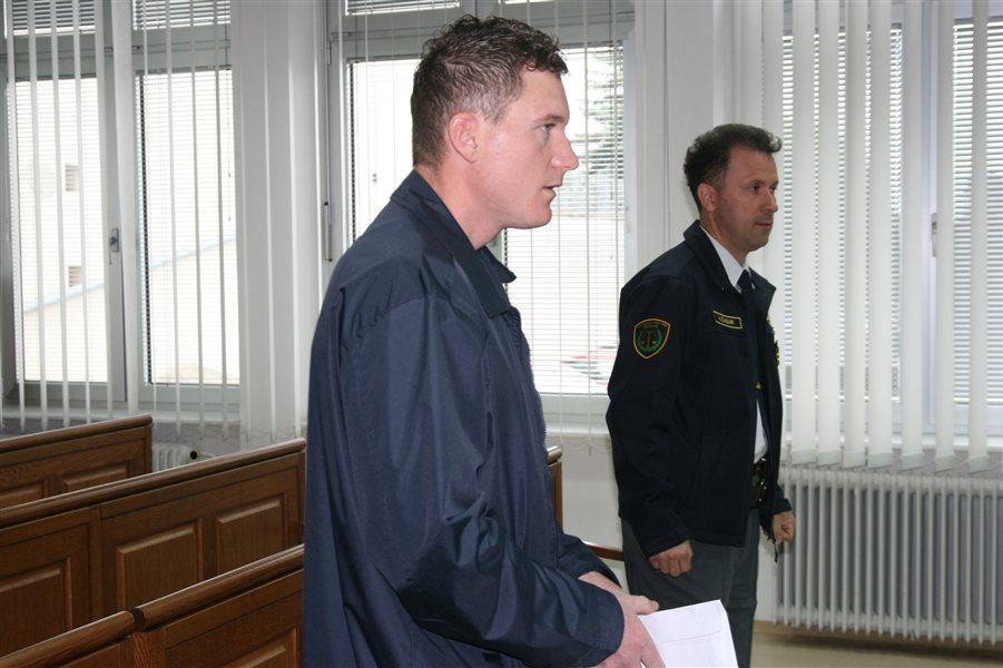 Anton Kokol na murskosoboškem sodišču.
