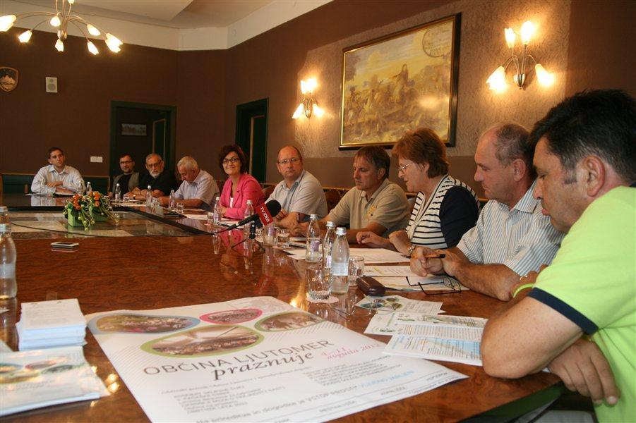 Številni organizatorji so predstavili prireditve ob občinskem prazniku v Ljutomeru.