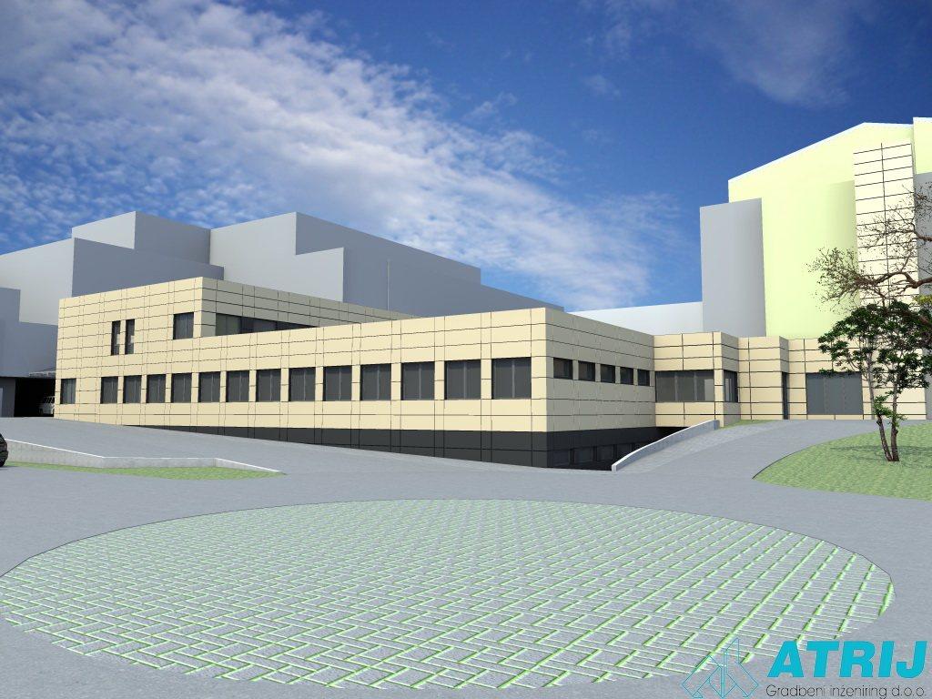 Takšen bo predvidoma nov urgentni center Splošne bolnišnice Murska Sobota