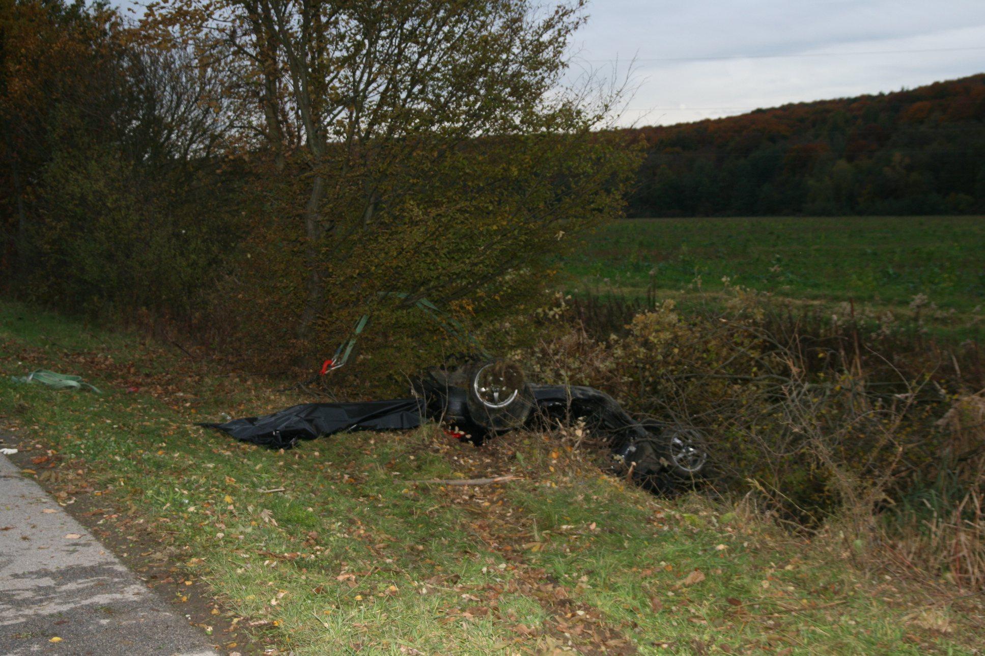 V bližini Ljutomera je v prometni nesreči umrl domačin.