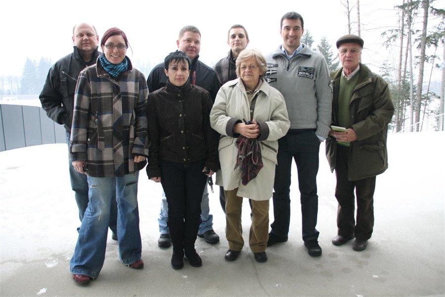 Udeleženci tečaja z Markom Potrčem
