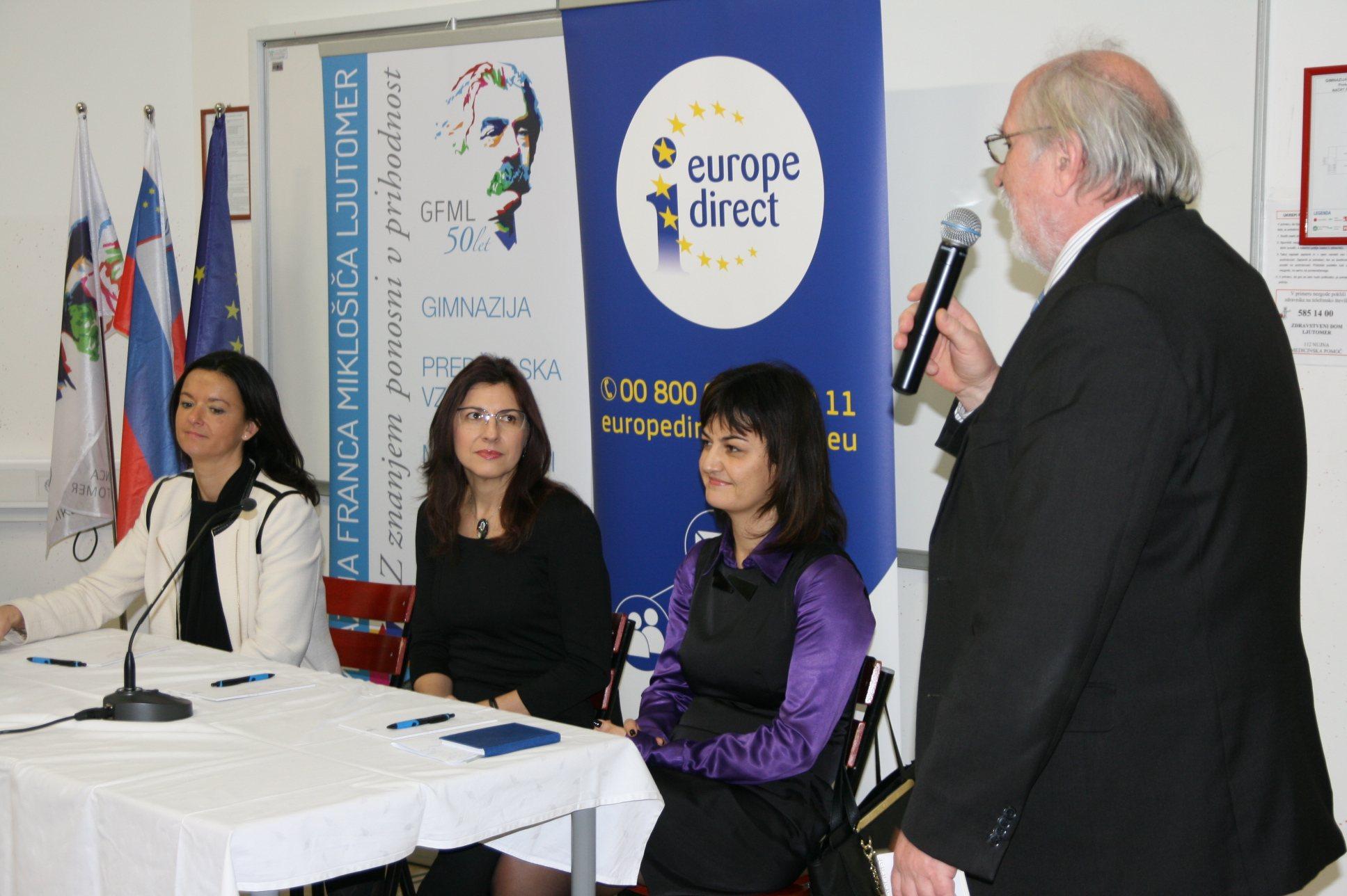 V Ljutomeru so govorili o prihodnosti EU.