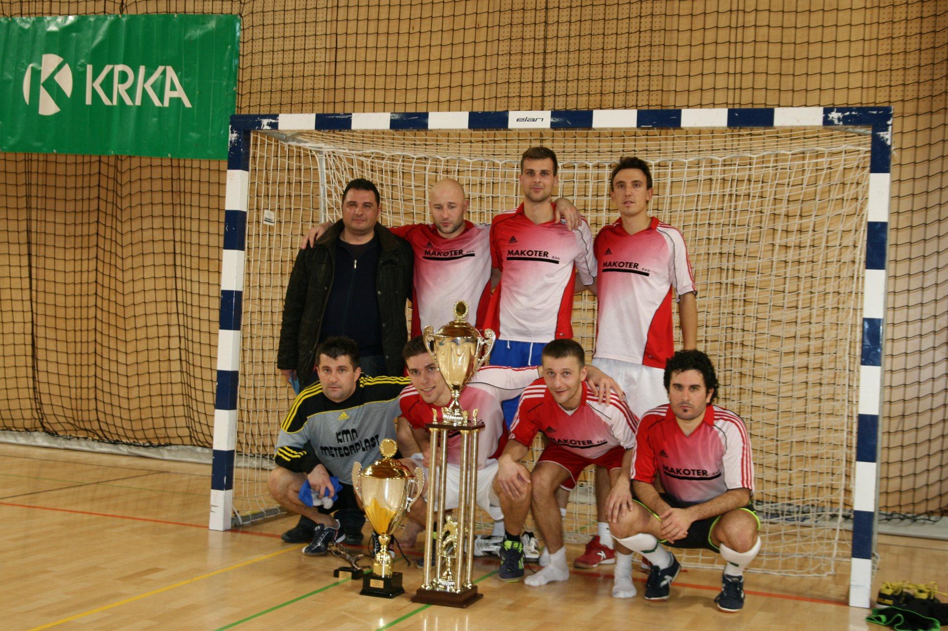 Turnir v Ljutomeru je osvojila ekipa SM Team.