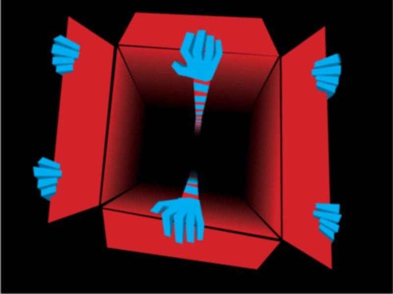 Črna luknja v volilni skrinjici