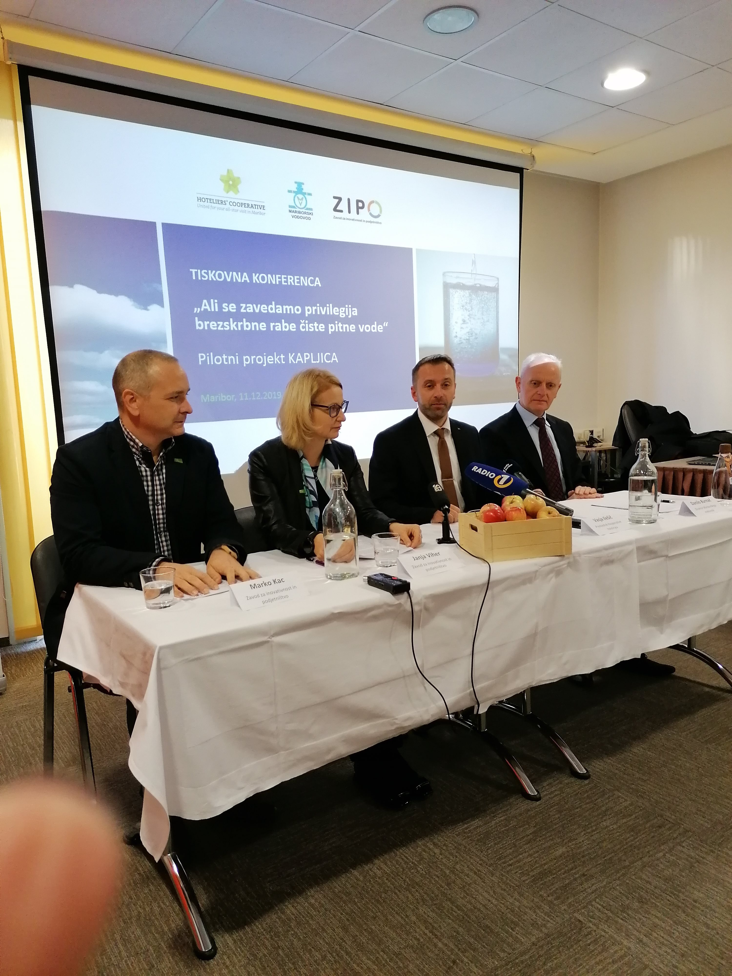 Z marketinškimi ukrepi bodo  poskrbeli za prepoznavnost ravnanja s pitno vodo.