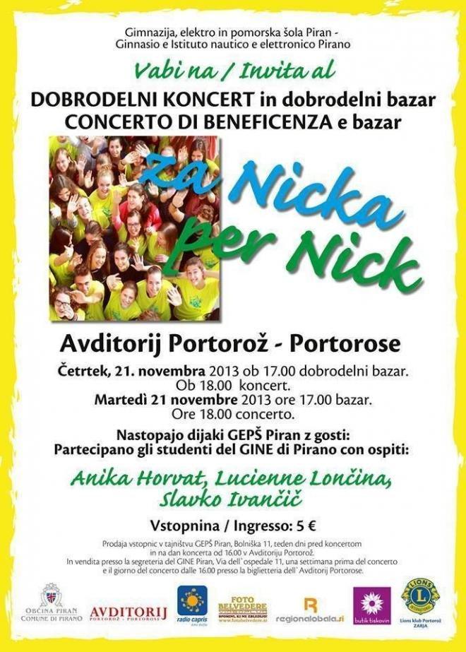 Koncert za Nicka