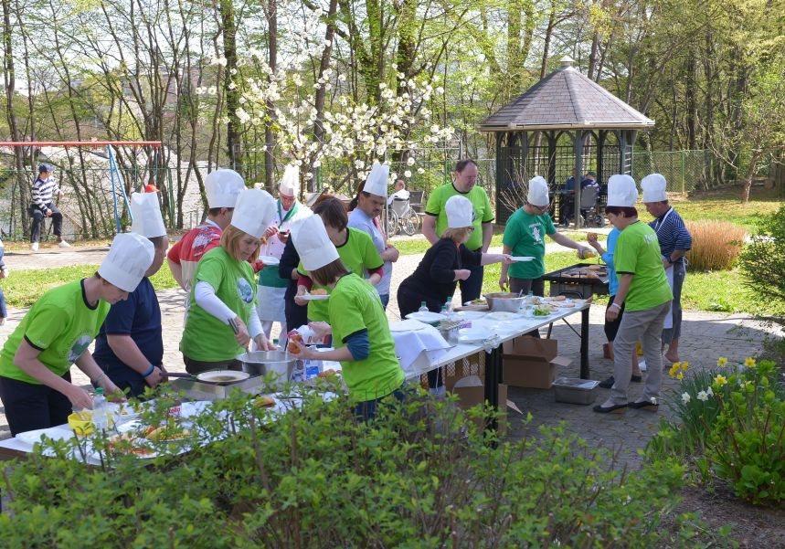 Kuharska delavnica s krkaši v VDC Novo mesto