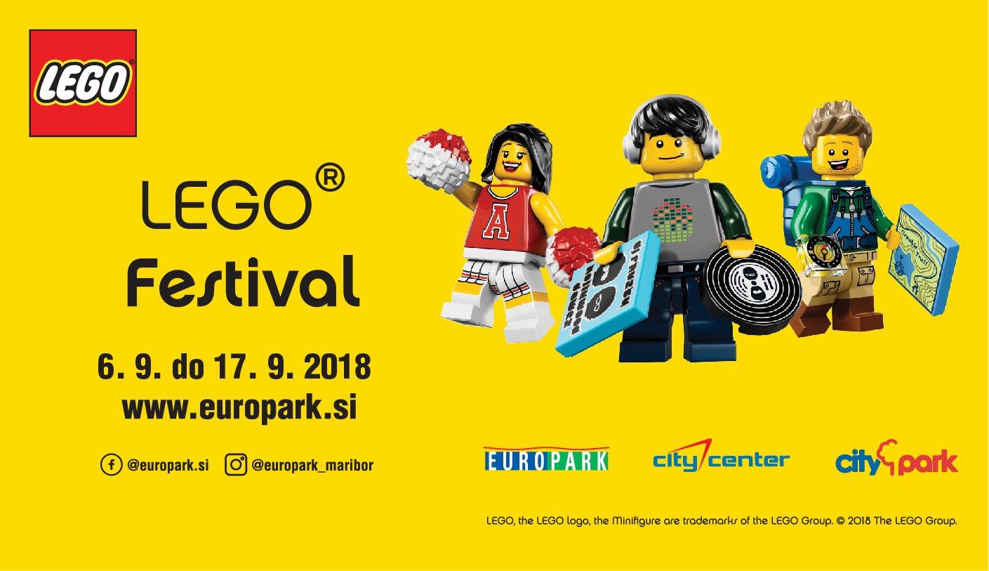Za vse obiskovalce bodo Lego igralnice odprte vsak dan.