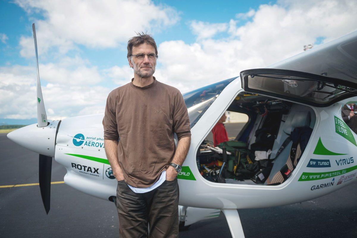 Zbiral bo podatke o onesnaženju z namenom pomagati v boju proti podnebnim spremembam.