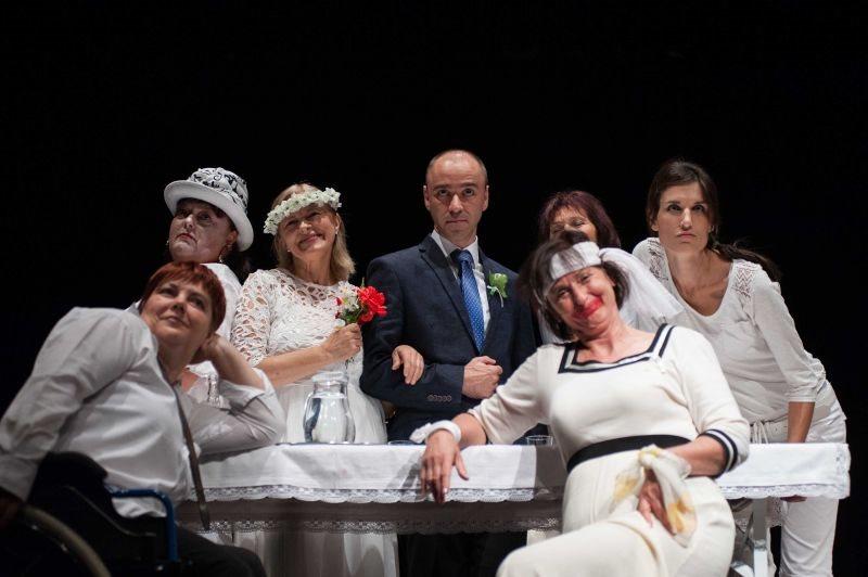 Gledališka skupina ONinME Ljutomer; foto: Matej Maček