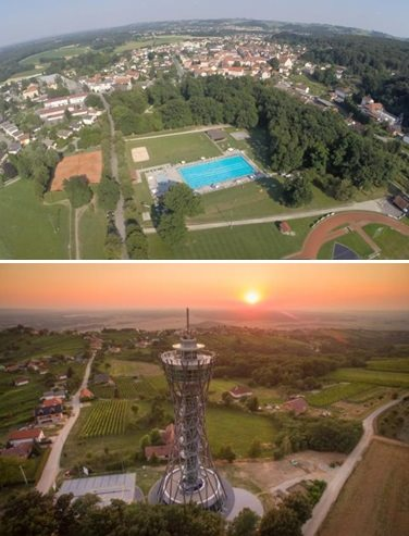 Občini Ljutomer in Lendava sta finalistki natečaja Zlati kamen; foto: občina Lendava in občina Ljutomer