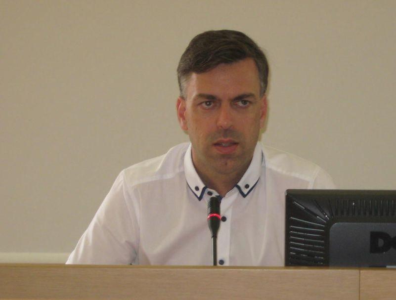 Gregor Macedoni, župan MO Novo mesto