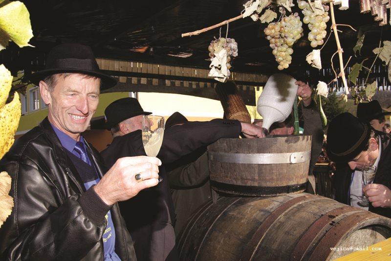 Martinovanje ni le praznik trte in vina, ampak tudi praznik vinske tradicije in kulture.