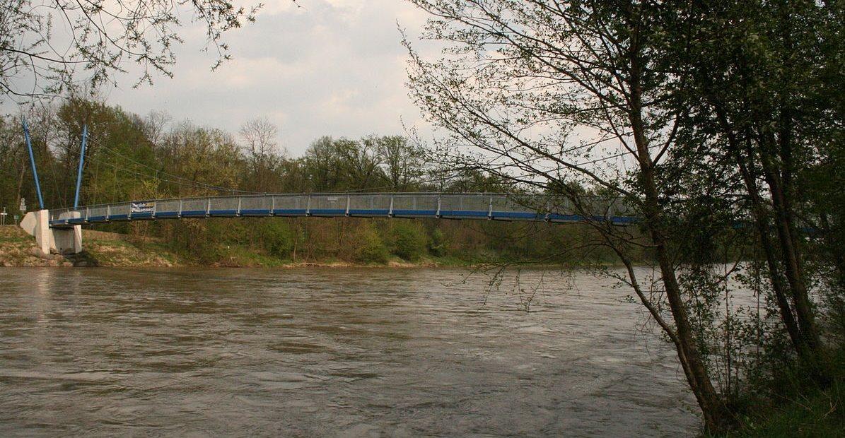 Most čez reko Muro v Črncih, foto: splet