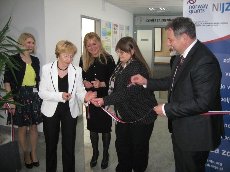 Otvoritev Centra za krepitev zdravja v ZD Sevnica