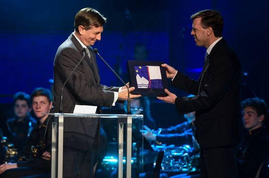 Predsednik države Pahor in župan Macedoni