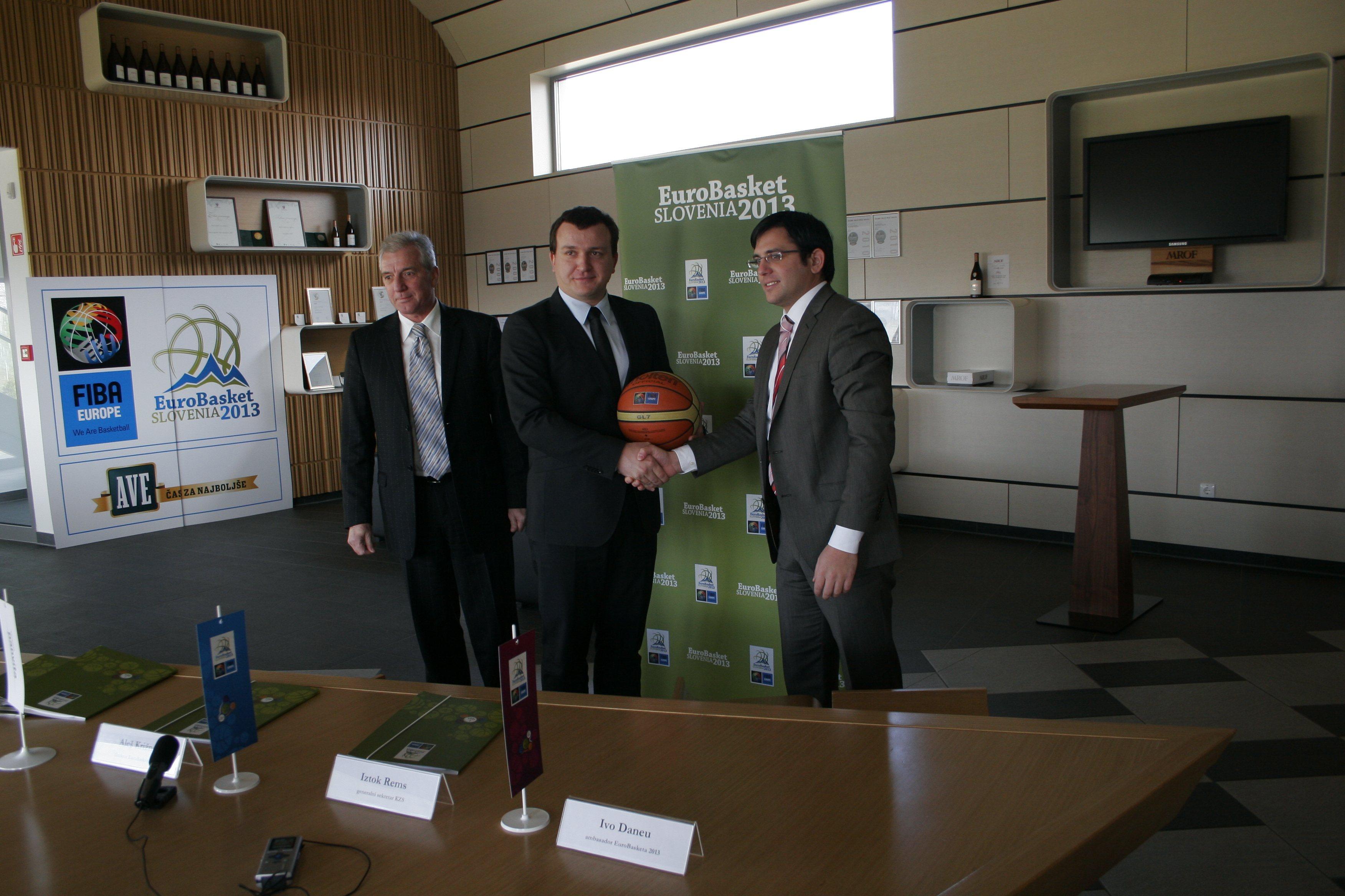Panvita bo eden izmed sponzorjev EuroBasketa 2013