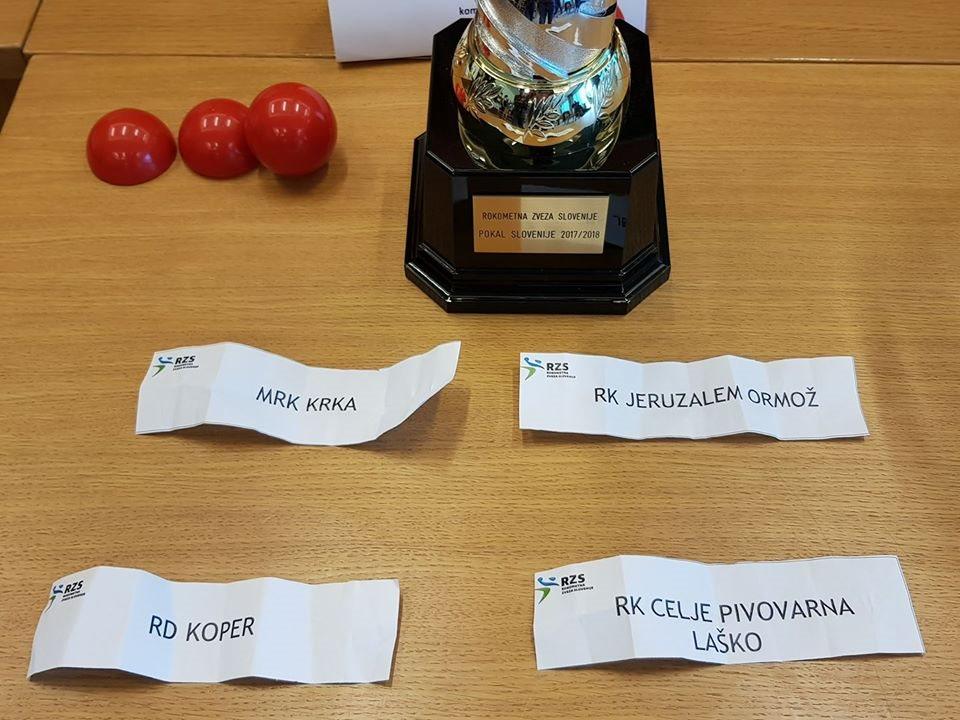Danes je v Biotermah Mala Nedelja potekalo žrebanje parov za finalni turnir Pokala Slovenije