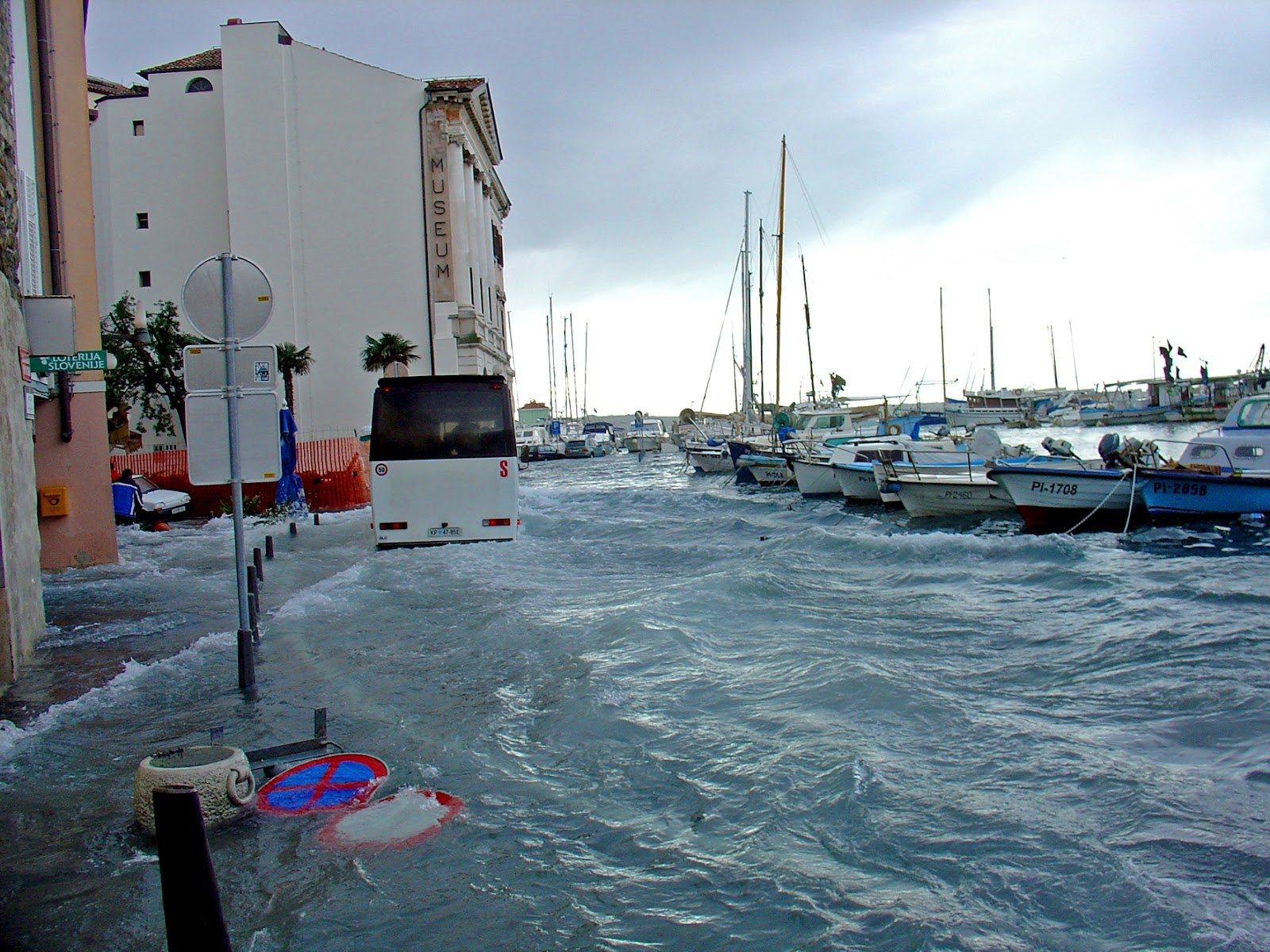 poplavljanje morja
