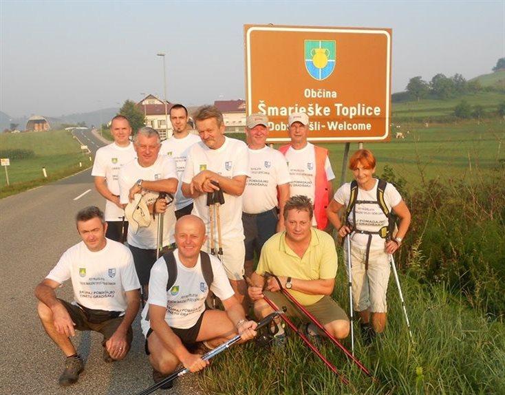 Pohodniki so na pot krenili že četrto leto, foto: FB Društvo Genau
