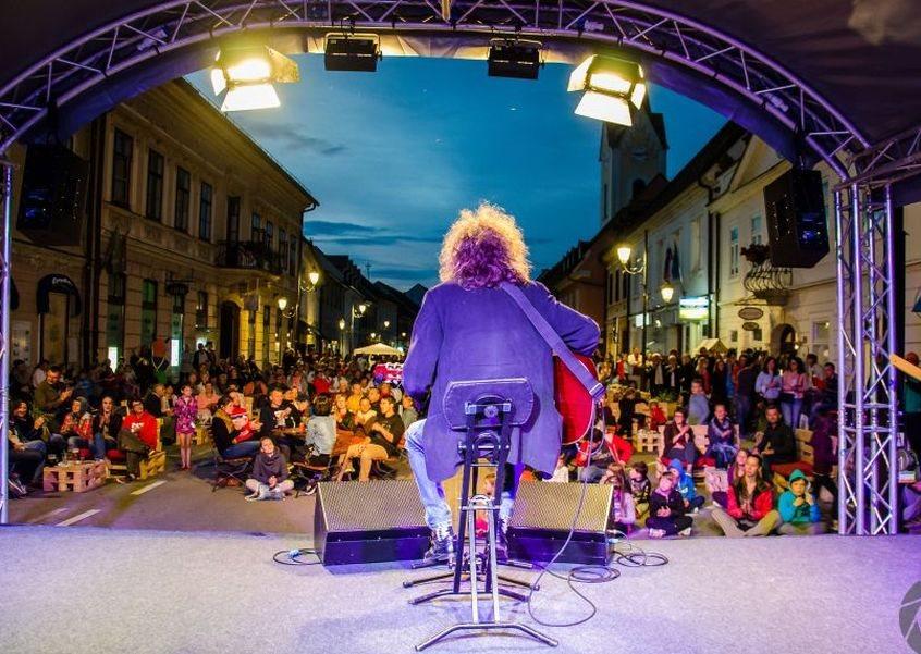 Tudi koncert Adija Amolarja je popestril dogajanje v Brežicah.