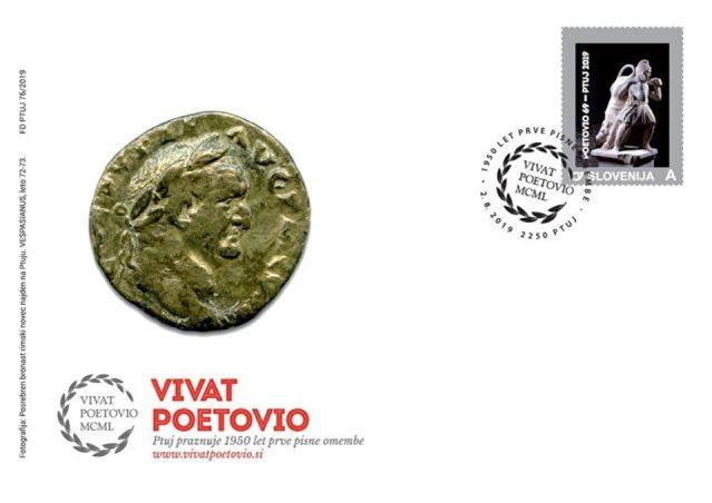 Žig, osebno znamko in kuverto je oblikoval Borut Kupnik iz Zavoda za turizem Ptuj.